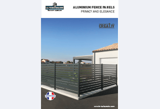 Photo - Aluminium fence panels brochure