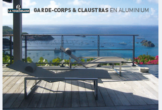 Photo - Catalogue Garde-Corps & Claustras en aluminium