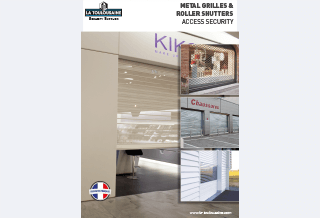 Photo - Metal Grilles and Roller Shutters Brochure