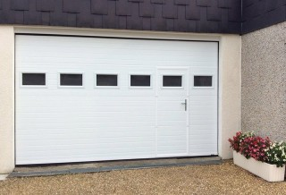 Photo - Grooved Garage Door