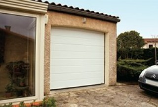 Photo - Smooth Single-Grooved Garage Door