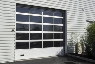 Photo - Glazed Sectional Door with Mullions